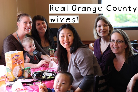 real Orange County housewives