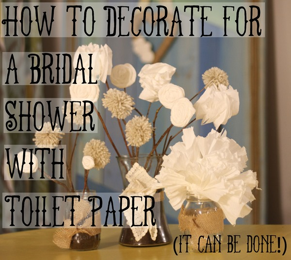how to decorate for a bridal shower