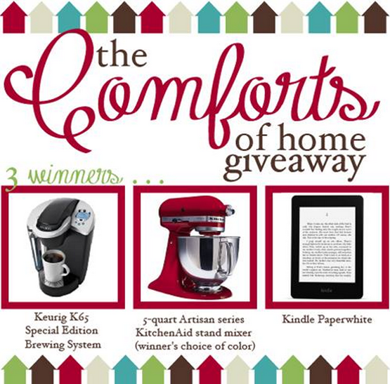 comforts of home giveaway