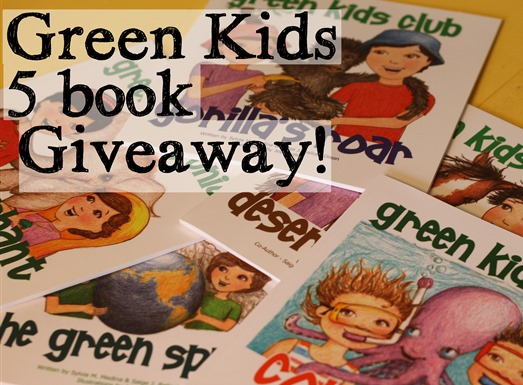 Green kids book giveaway